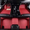 Car Floor Mats For Chrysler 300 300C 300M Aspen Cirrus Daytona Car Accessories car styling Foot mats Custom Black/Gray/Yellow