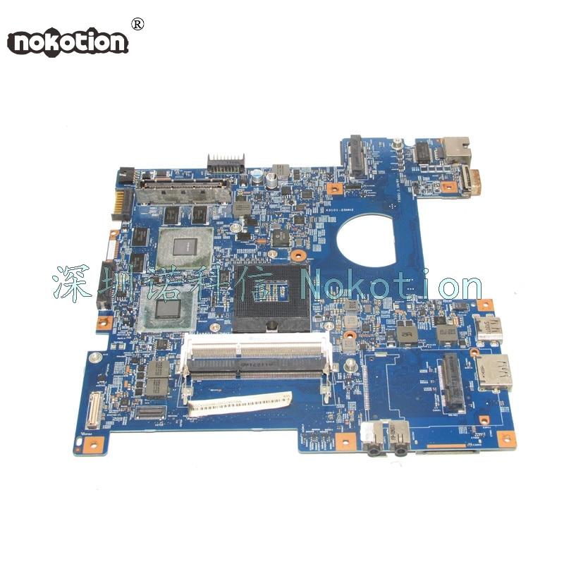 NOKOTION MBV5K01002 MB.V5K01.002 For Acer TravelMate 8473 Laptop motherboard 48.4NP01.01M HM65 DDR3 GT540M nokotion z5wae la b232p for acer aspire e5 521 laptop motherboard nbmlf11005 nb mlf11 005 ddr3