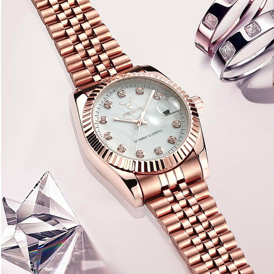 kobiet zegarka Fashion Women Watch Black Casual Quartz Waterproof Wrist watches  Rose Gold Reloj Mujer Clockkobiet zegarka Fashion Women Watch Black Casual Quartz Waterproof Wrist watches  Rose Gold Reloj Mujer Clock