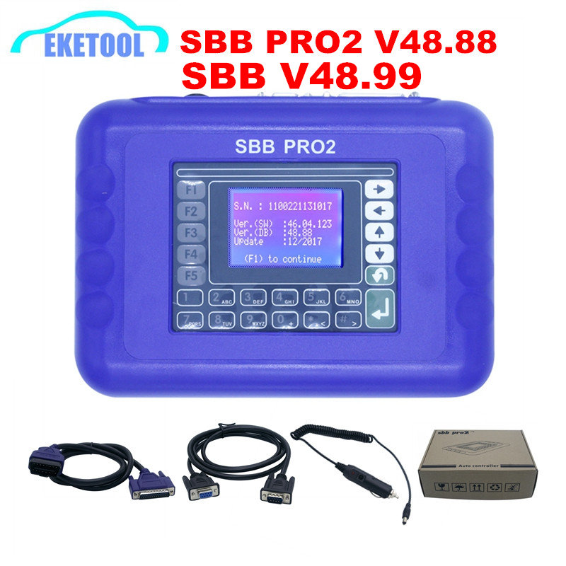 Newest V48.99 SBB V48.88 SBB PRO2 Supports New Cars Multi-Language No Tokens Supports For Toyota G Chip MINI Zed Bull