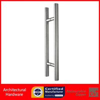 Entrance Door Handle Stainless Steel Pull Handle PA 615 36 26 600mm For Entry Glass Shop