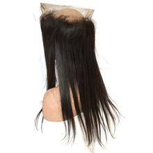 8A Grade 360 Lace Frontal Closure Back With Peruvian Hair Straight 360 Lace Virgin Hair Straight Full Frontal Lace Closure