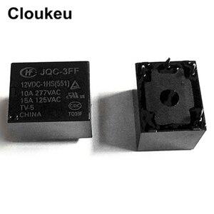 JQC-3FF-12VDC-1HS 10А реле DIP4 HF3FF-012-1HS