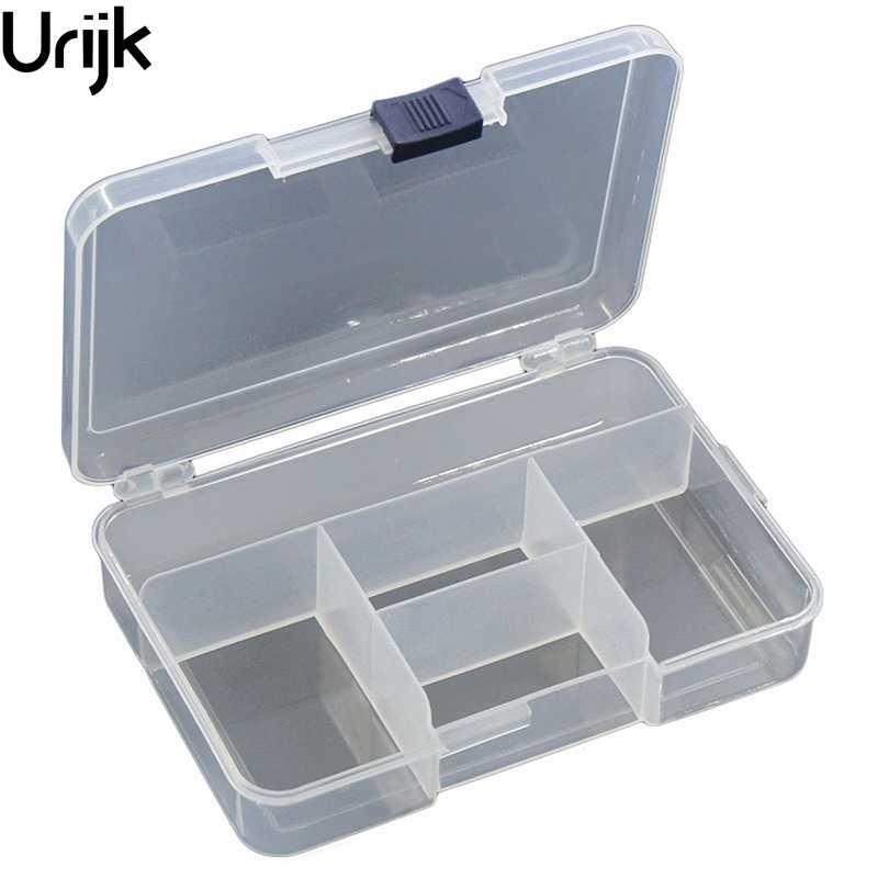 """""""Urijk"""" plastikinis skaidrus dėklas, 5 skyriai papuošalų - Organizavimas ir saugojimas namuose"""