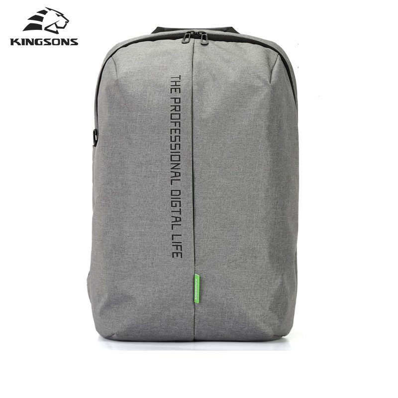 Kingsons Waterproof Laptop Backpack 15.6 inch Anti-theft Preppy Bag Backpack Men Women School Bags for Teenagers Boys Girls cool urban backpack for teenagers kids boys girls school bags men women fashion travel bag laptop backpack