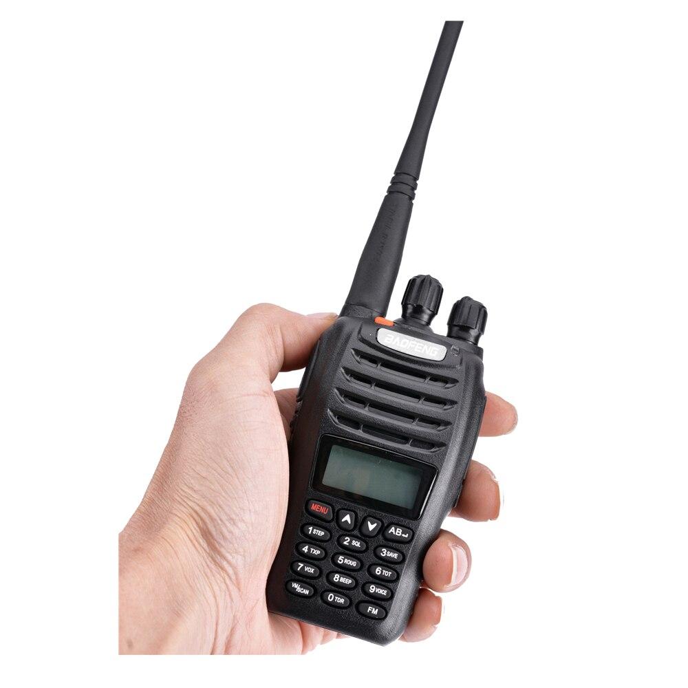 2 pièces Baofeng UV-B5 talkie-walkie 199 canaux Radio bidirectionnelle UHF VHF longue portée portable FM HF émetteur-récepteur Radio jambon Comunicador - 4