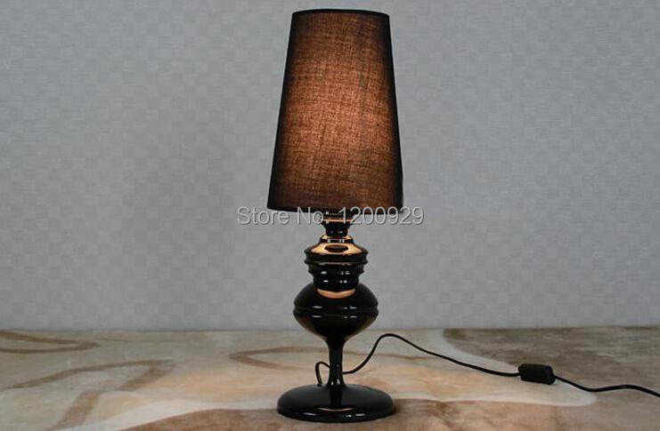 Small size 150mm 520mm classic fabric iron table lamp by j - What size table lamp for living room ...