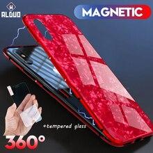 magnetic case for iPhone X 6 7 8 plus luxury metal flip coque 8plus 7plus fundas adsorcion magnetica for iPhone 7 8 plus X cover