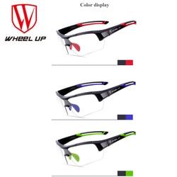 Wheel up photochromic cycling glasses discoloration glasses mtb road bike sport sunglasses bike eyewear anti uv.jpg 250x250
