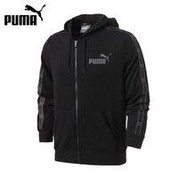 Original New Arrival 2017 PUMA Rebel Tape FZ Hoody TR Men S Jacket Hooded Sportswear