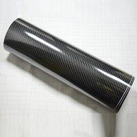 Super Glossy 6D Carbon vinyl Black 1.52x20m carbon fiber with air free bubbles