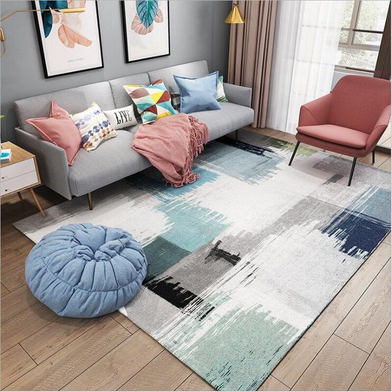 Tapis nordique minimaliste moderne tapis de zone pour salon grand tapis Alfombra tapis pour salon chambre tapis décor