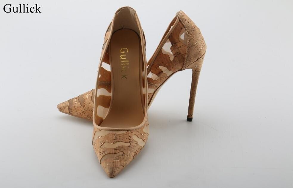 As Talon Bois Robe Pompes Slip Bout Motif Office Haute De Sexy Lady Pointu out Partie Picture Creux Cm Chaussures Femmes 11 on Cut nqwxtY14