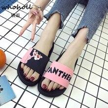 Summer slippers women shoes Badslippers Indoor Flip Flops bathroom winter home woman Zapatillas de mujer