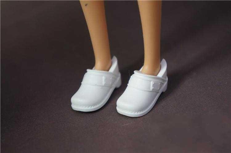 Toptan yeni gelmesi orijinal 1 çift bebek ayakkabıları moda ayakkabılar için barbie bebek 1/6