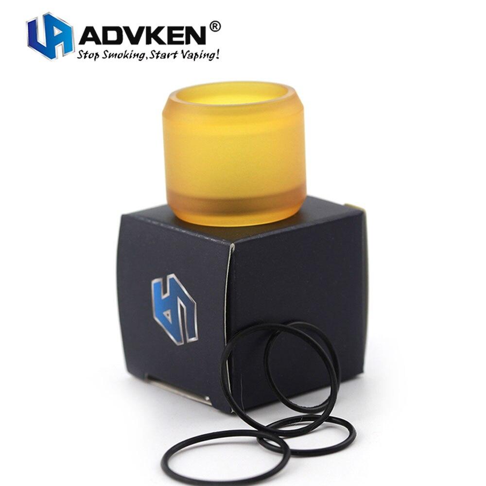 100% Originale Advken Sostituzione PEI Tubo per Advken MANTA RTA 5 ml Capacità W/O-Ring Advken Sostituzione tubo E-cig Ricambi