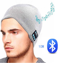 19b7bf49251 Bluetooth headphones Unisex Smart Music Hat Wireless cap Headset sports  Earphone with Speaker Mic. US  10.20   piece Free Shipping