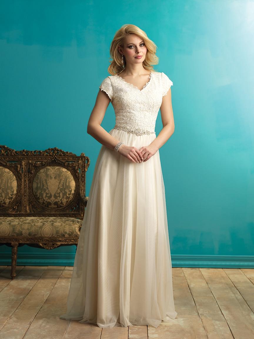 Contemporary Modest Informal Wedding Dresses Collection - Wedding ...