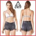Женщины UNIF Спагетти Ремень Растениеводство Топы Нет Груди Мягкий Unif Топы Одежда США Размер XS-L С Категории Оптовая