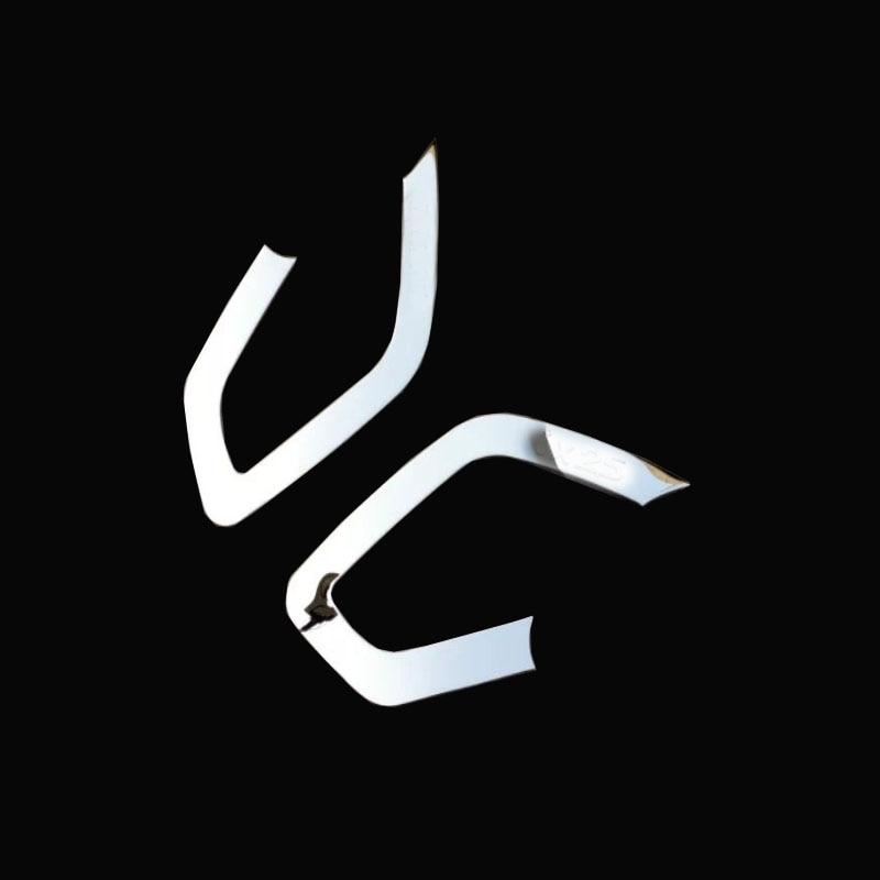 Per Hyundai Creta ix25 auto porta anteriore bracciolo copertura decorazione Modanature interne In acciaio inox accessorio di stile 2016