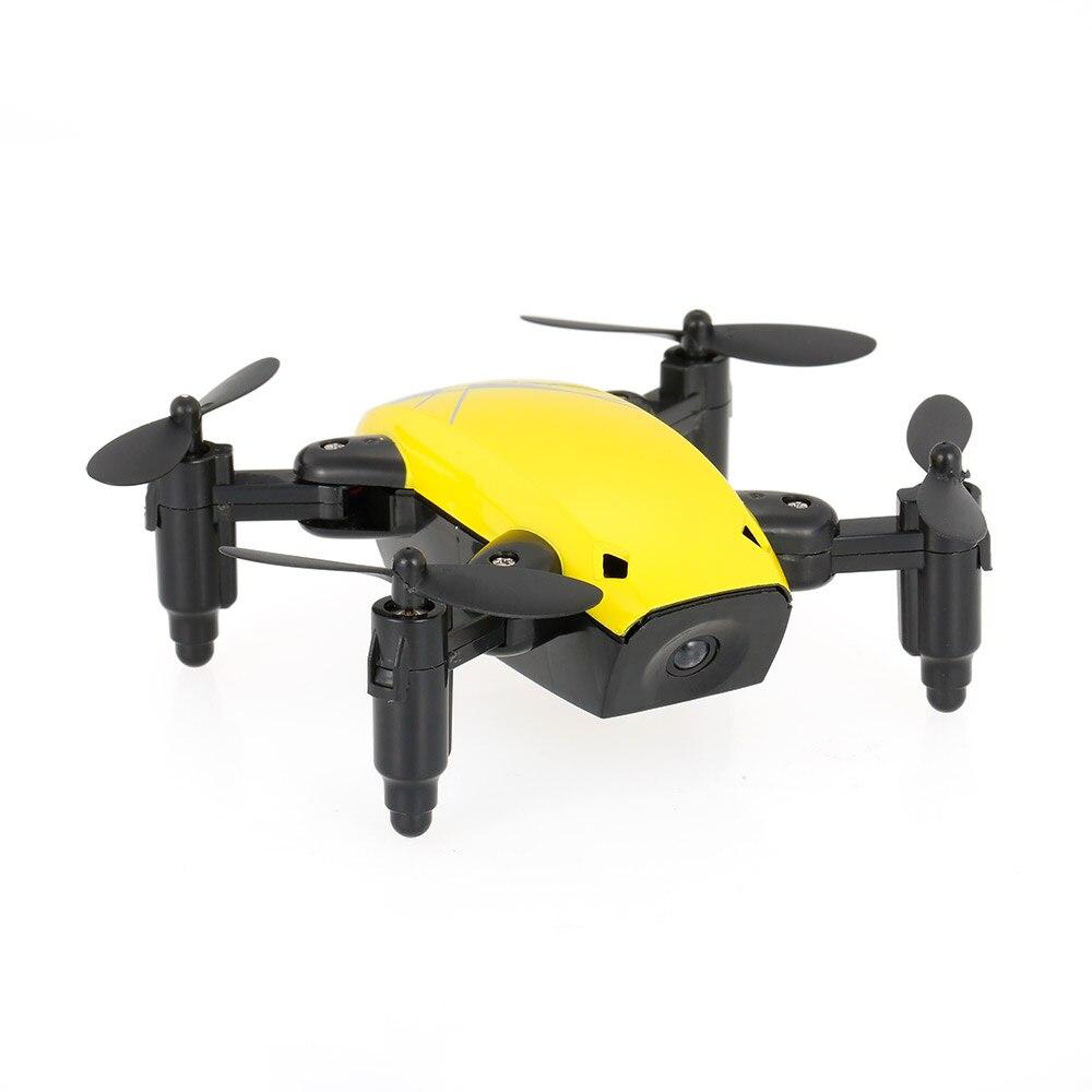 New Cute Mini Drone S9 2.4G 4CH 6-axis Gyro Selfie Drone Headless Mode One Key Return Foldable Dron RC Quadcopter RTF Gift (14)