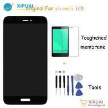 100% Original probado Para Xiaomi Mi5 pantalla LCD + Touch Panel Reemplazo para xiaomi mi 5 teléfono móvil de 5.15 pulgadas Libre gratis