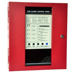 NEW Red Conventional Fire Alarm Control System Control Panel 4 zones controller FACP