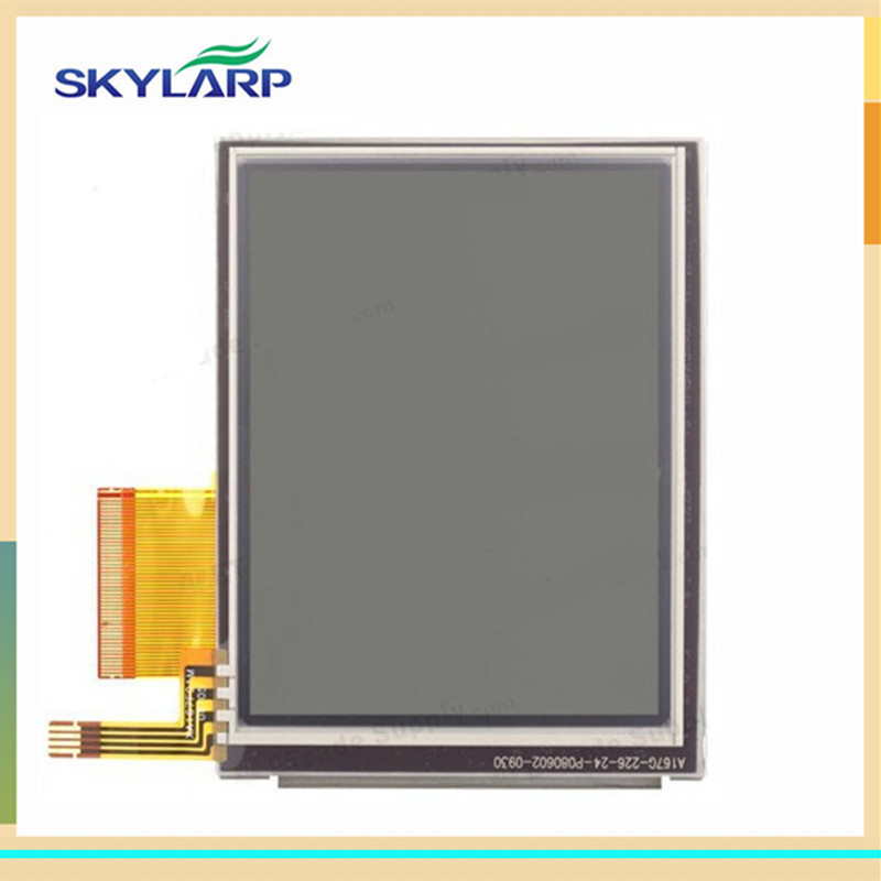 Original LCD screen for Datalogic Kyman Falcon 4410 handheld device display screen panel Module Replacement (2nd version) for datalogic falcon x3 lcd screen display with touch screen digitizer assembly complete for 3rd version
