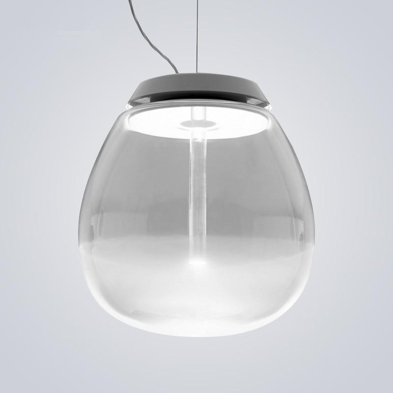 Modern Pendant Light Round Glass Ball LED Hanging Lamp suspension luminaire Home Lighting Fixtures pendant lamp modern pendant ceiling lamp led lamparas suspension luminaire chandelier luster glass ball hanging lighting e27 light fixture