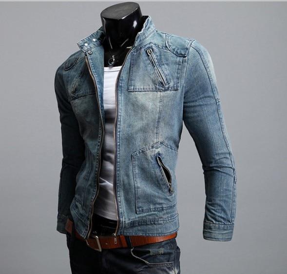 Aliexpress.com : Buy Free Shipping Mens Casual Jean Jacket Slim ...