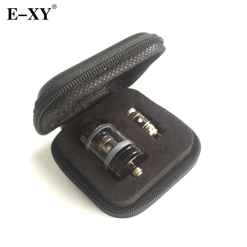 Original E-XY 22mm atomizador 0,3 0,5 Ohm Core bobina 2,5 ml capacidad 510 hilo para cigarrillos electrónicos Vape caja Mod