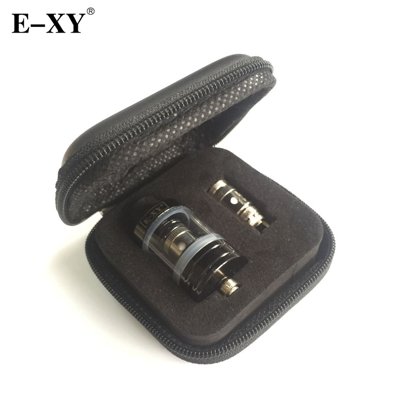 Original E-XY 22mm tanque atomizador 0,3 0,5 Ohm bobina de núcleo 2,5 ml capacidad 510 hilo para cigarrillos electrónicos Vape caja Mod