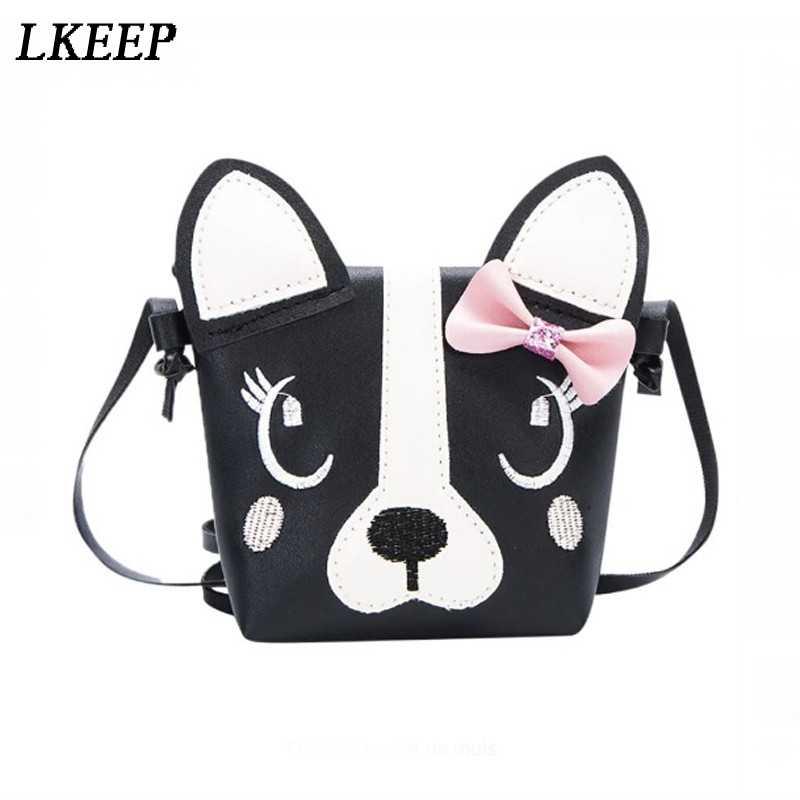 Детская мультяшная сумка почтальонка для девочек, милая детская сумка на плечо с принтом животных, мини-сумка, подарок для девочек