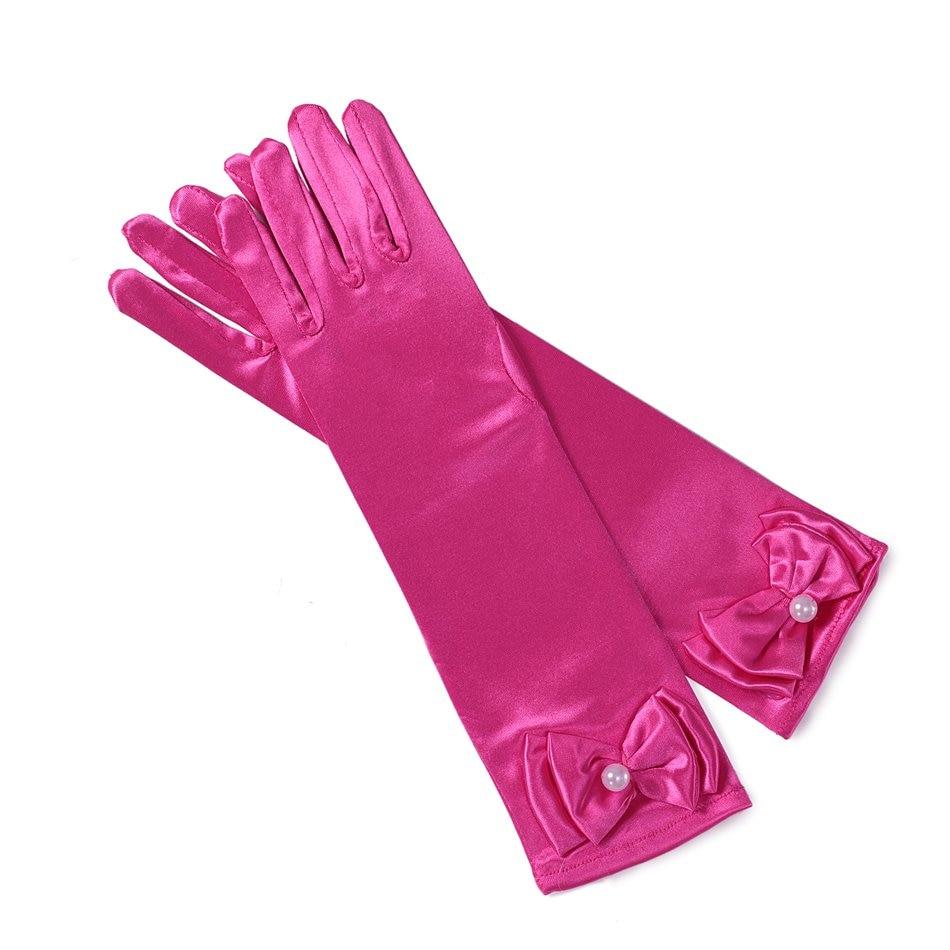 Girls Cosplay Costume - Rose Gloves