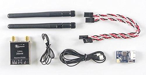 RC Drone Accessories Skyzone Original STX202 Dual Transmitter for Skyzone SKY02S V F19715