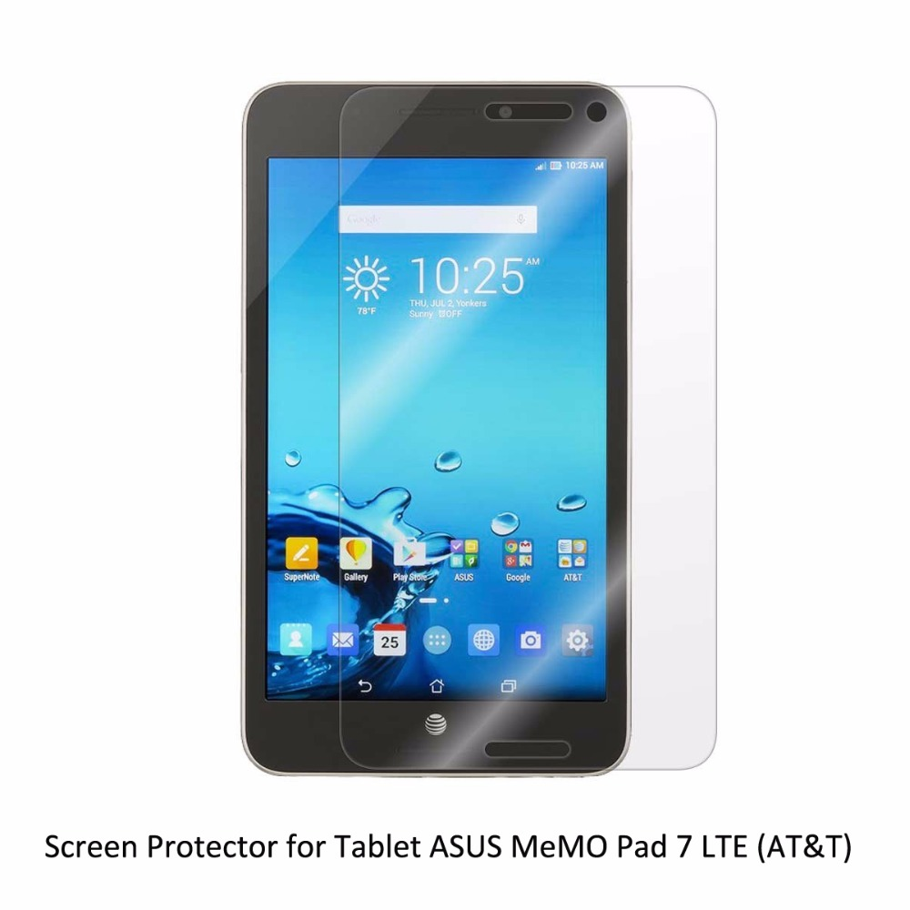 Clear LCD PET Film Anti Scratch/ Anti Bubble / Touch Responsive Screen Protector for Tablet ASUS MeMO Pad 7 ME375CL