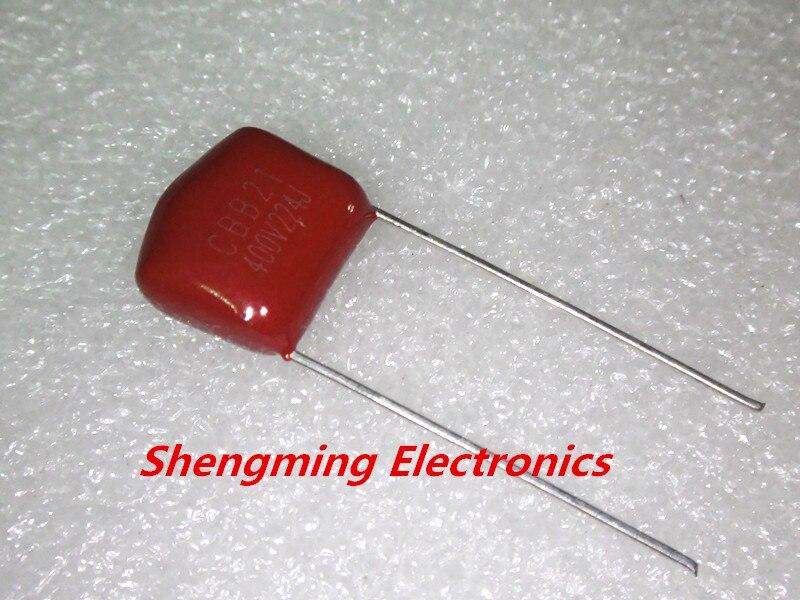 1000PCS 220NF 400V 224J 400V 0 22UF 224 P 10mm CBB capacitor