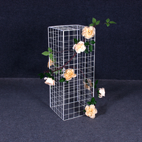 grand event backdrops geometry metal rack shelf for wedding walkway aisle arch iron stand for baby shower ballon birthday flower