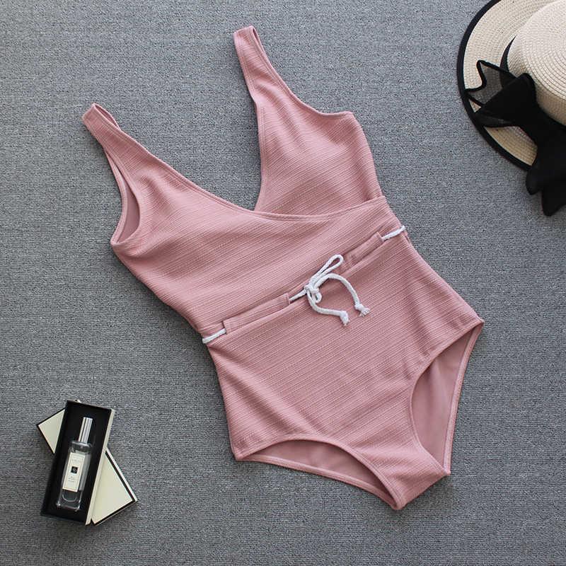 2019 сексуальное боди с веревкой для взрослых, белый и черный цвета, женская одежда для плавания, Дамский Монокини, купальный костюм