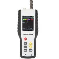 HT 9600 Высокая чувствительность PM2.5 детектор частиц монитор профессиональный пыли мониторинга качества воздуха ручной счетчик частиц