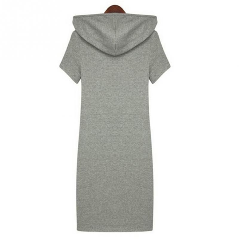 2017 Autumn Style Women Fashion Plus Size Letters Hooded sweatshirt dress  Women Sweatshirts Dress Hoodies Jumper Dress-in Dresses from Women s  Clothing on ... 9622561314d6