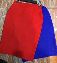Top Quality Celebrity Bodycon Knee Length Rayon Bandage Skirt Elegant Party Fashion Skirt