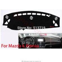 RHD Right Hand Drive Приборной Панели Автомобиля Избегайте Свет Pad Инструмент Крышка Платформы Стол Коврик Ковры Для Mazda 6 Atenza