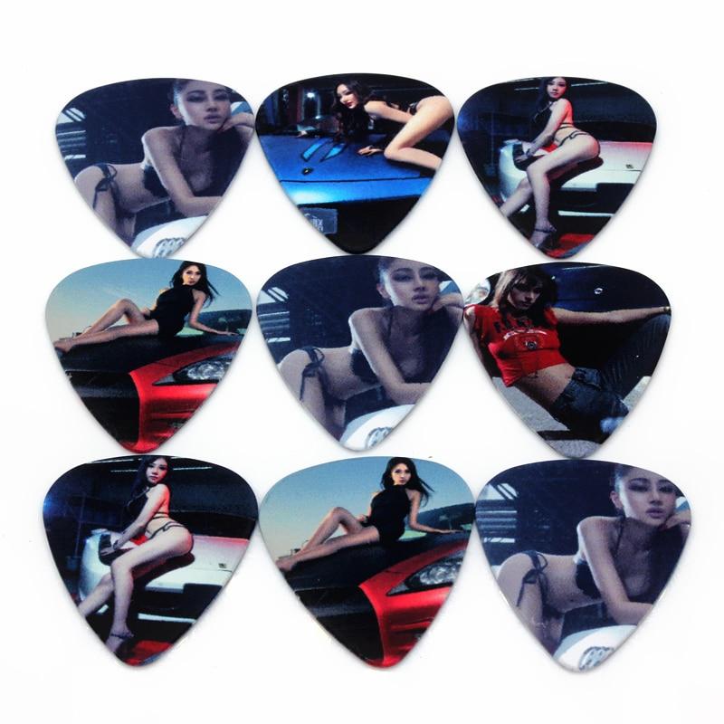 Luggage & Bags Soach 50pcs/lot 0.46/0.71/1.0mm Acoustic Guitar Picks Car Strings Instrument Guitar Accessories/bass Guitar Paddle/ukulele Parts Nourishing Blood And Adjusting Spirit