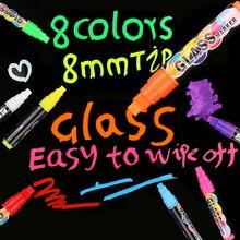 Real Materiais Escolar Office Supplies 8mm Highlighter Neon