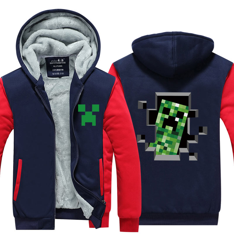 ... Minecraft e g Cappotto Con Anime Unisex Il Cerniera j Yinuodail Mio f  Di d x ab c w ... 584a77c5c65