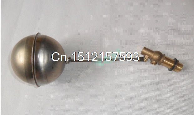 1) 4 100mm Ball DN15 1/2BSP Male Stainless Steel Water Boiler Machine Float Valve Level Switch Hi-Temp Screw Length 25/40/60mm g 1 1 4 11 tpi bsp parallel british standard pipe tap