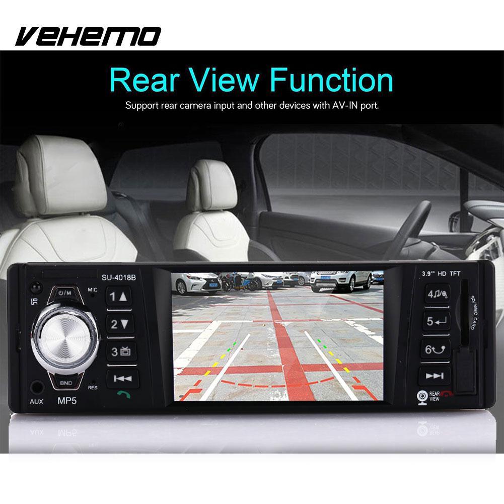 Vehemo 1080 P MP5 lecteur voiture Automobile MP5 multi-fonction voiture lecteur vidéo Kit de voiture Bluetooth