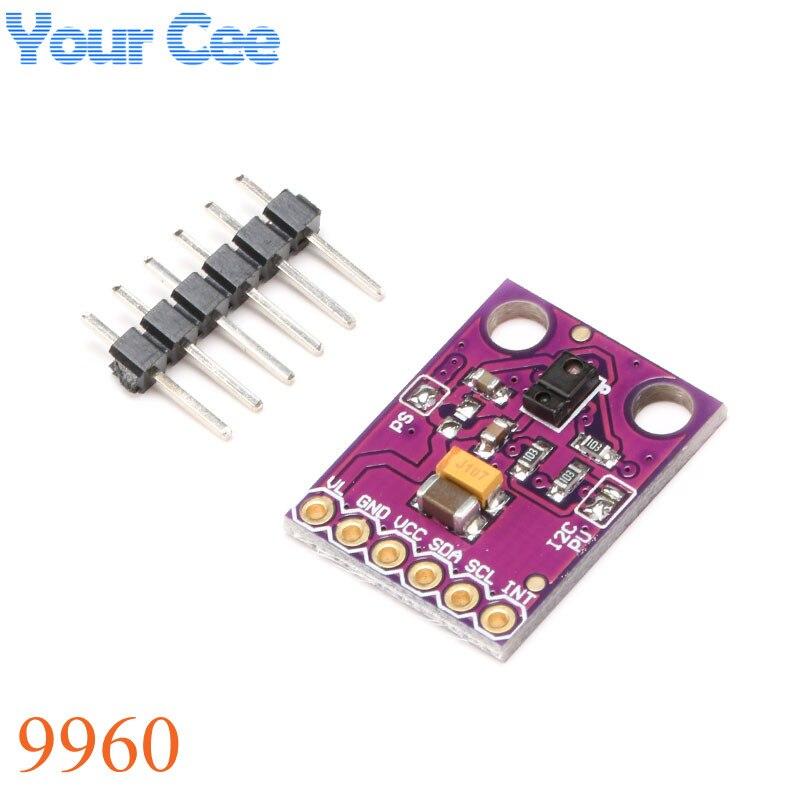 1 шт. DIY mall RGB жест Сенсор APDS-9960 apds 9960 для Arduino I2C Интерфейс 3.3 В обнаружение близость зондирования Цвет УФ-фильтр ...