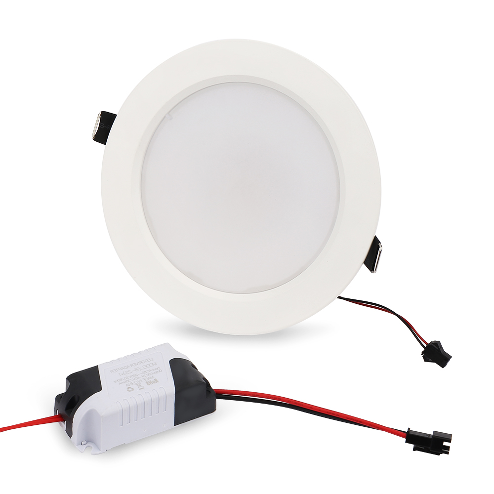 5st / lot 10W 5W RGB LED-panel lampa Rund taklampor med - LED-belysning - Foto 3
